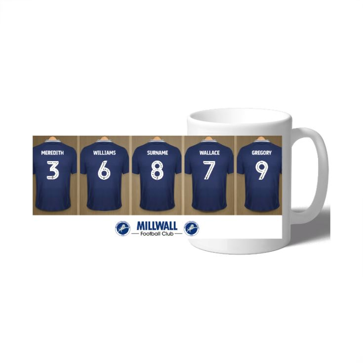 Personalised Millwall FC Dressing Room Mug product image