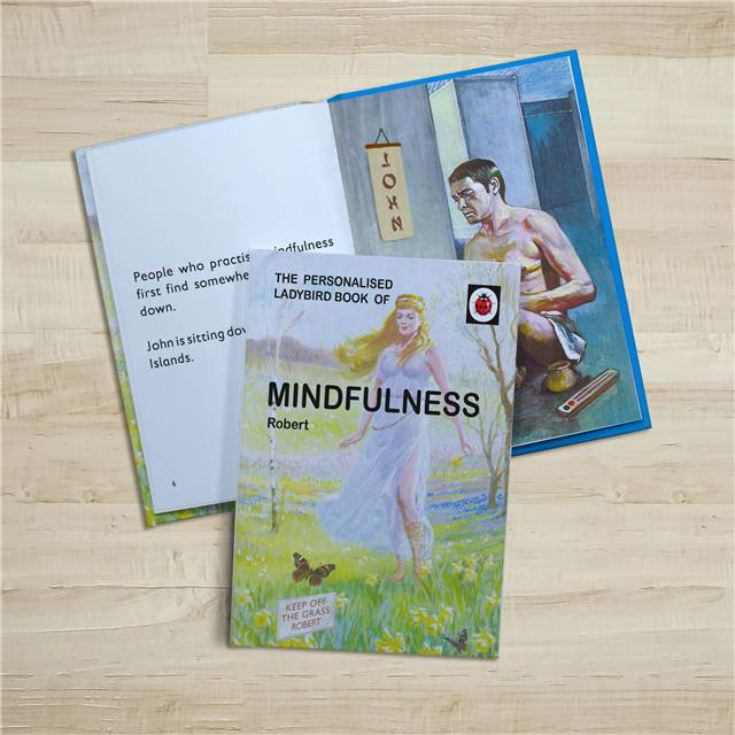 Personalised Ladybird Books For Adults - Mindfulness product image