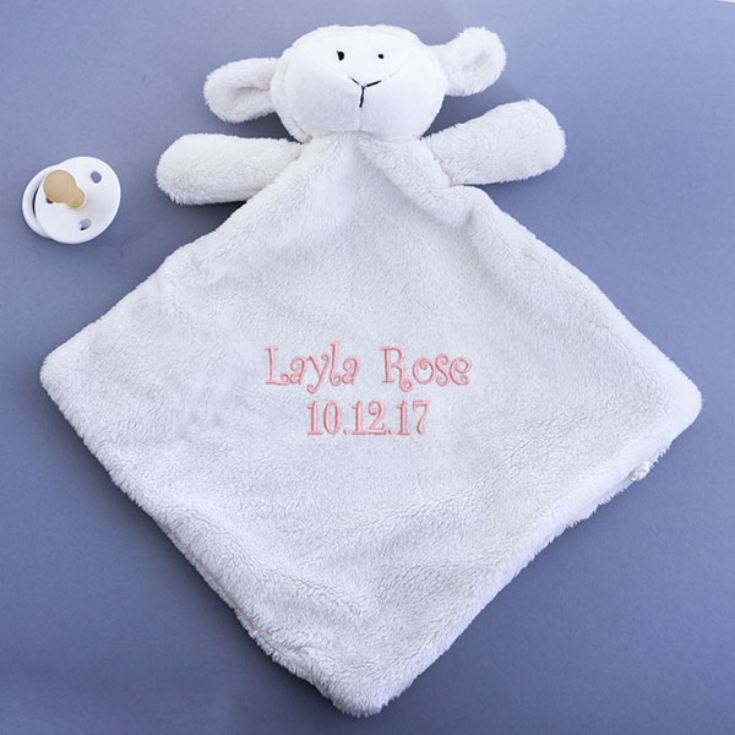 Personalised Embroidered Lamb Snuggy product image