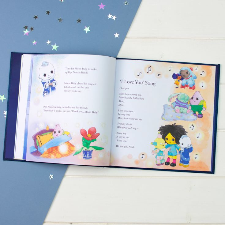 Personalised Moon & Me Book Children's Hardback Book product image