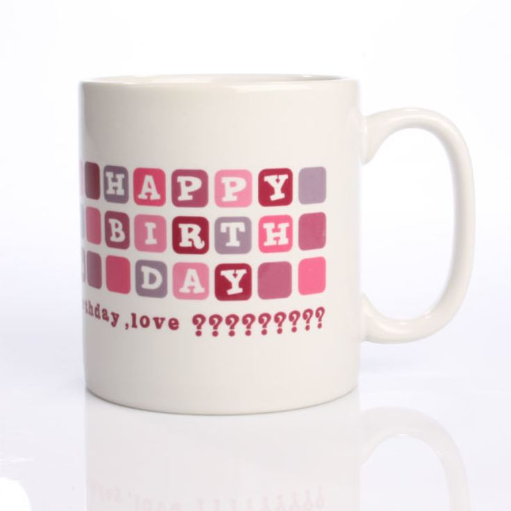 30th Birthday Personalised Mug Product Image