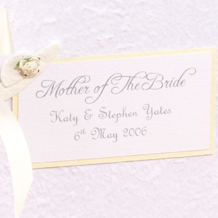 Mother Of The Bride Personalised Photo Album product image