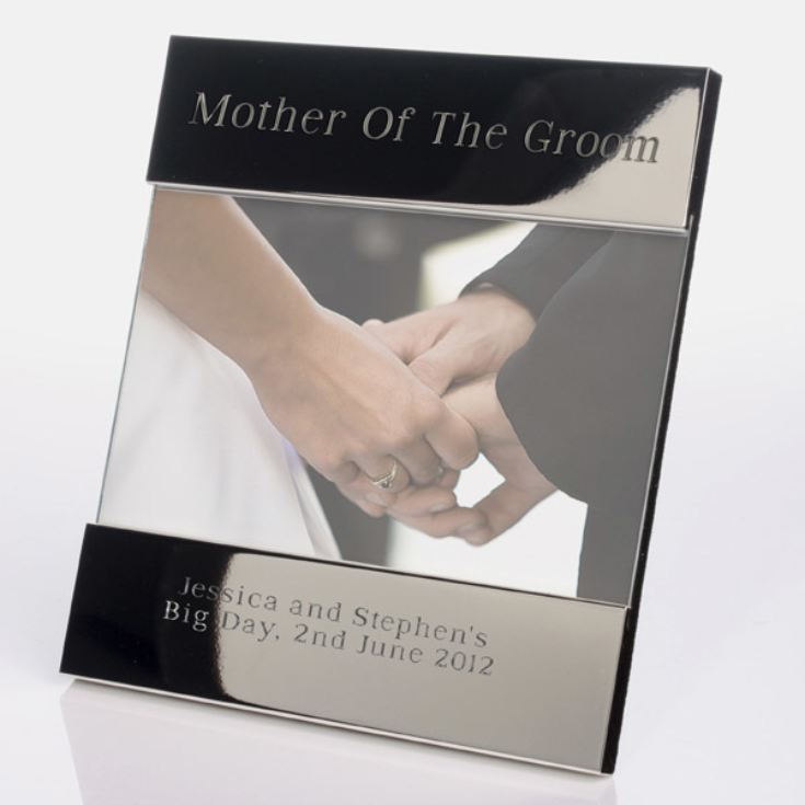 Engraved Mother Of The Groom Photo Frame product image
