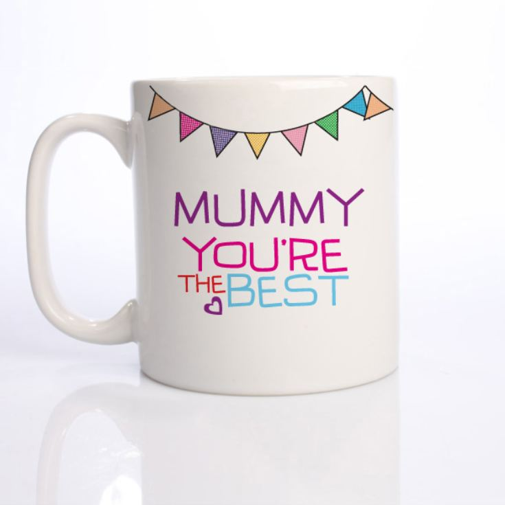 The Best Mummy Personalised Mug product image