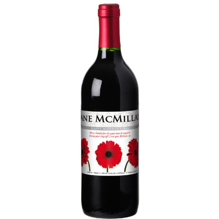 Personalised Mothers Day Wine product image