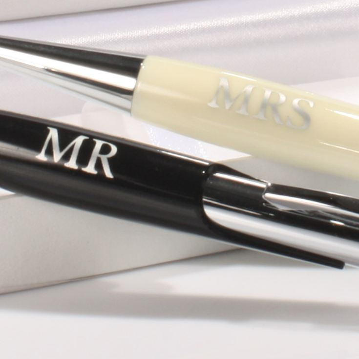 Amore Set of 2 Mr & Mrs Pens product image