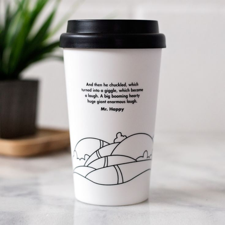 Mr Happy Travel Mug product image