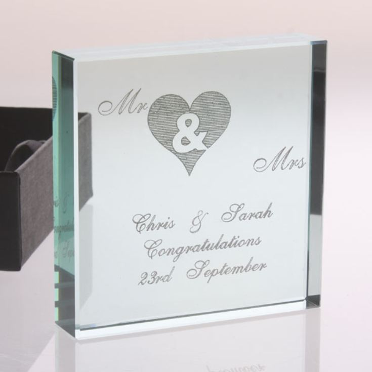 Mr & Mrs Keepsake product image