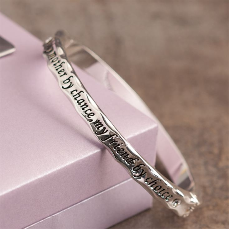 Mum Bangle in Personalised Gift Box product image