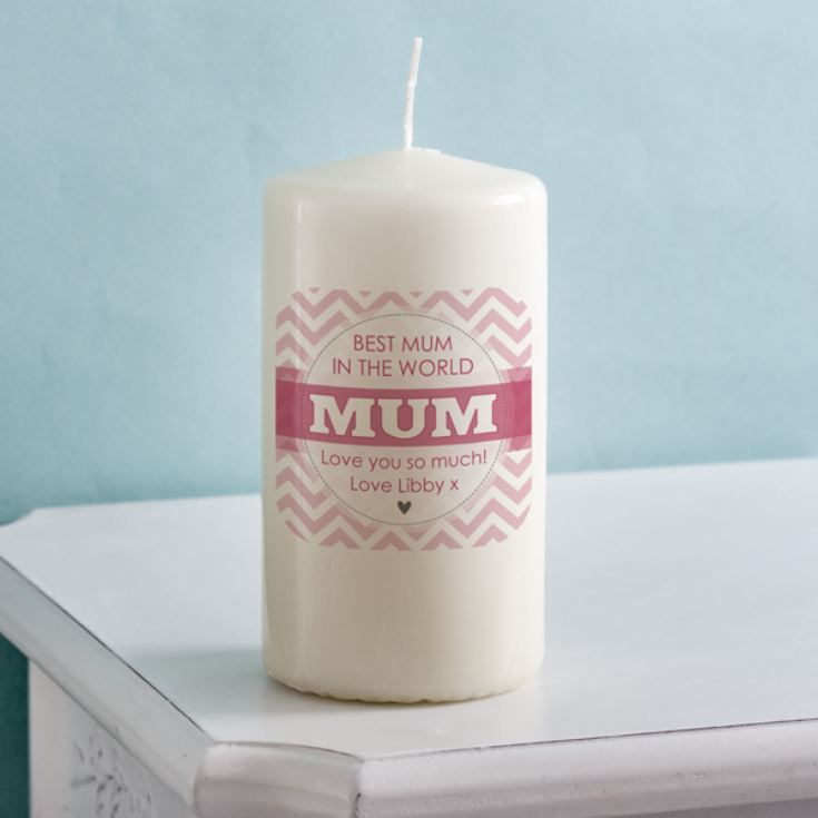 Personalised Mum Candle product image