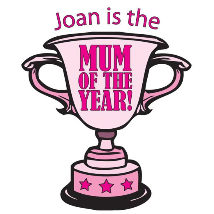 Mum of the Year Personalised Apron product image