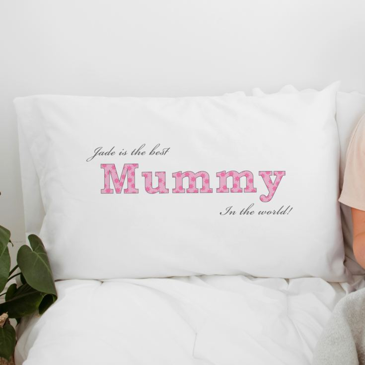 Personalised Mummy Pillowcase product image