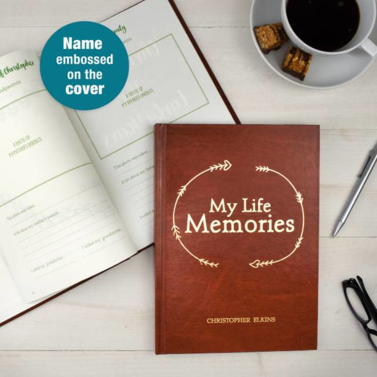 Personalised My Life Memories Journal product image