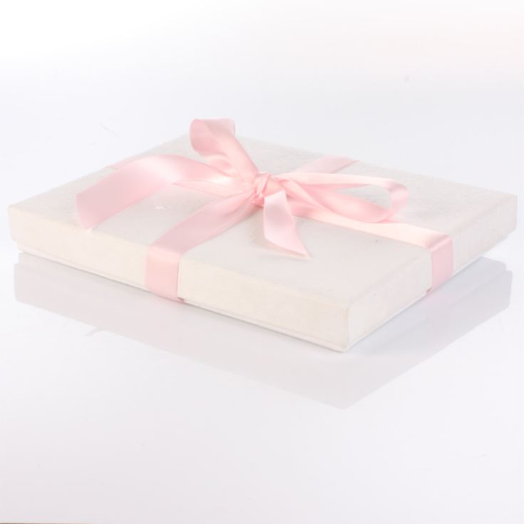 Personalised Naming Day Photo Album - Pink product image