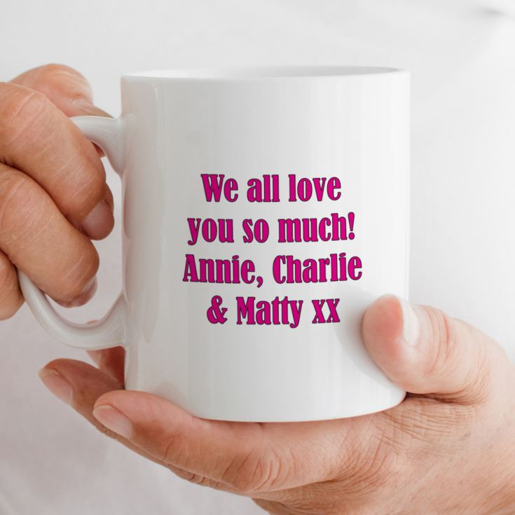 Nan of the Year Award Personalised Mug product image