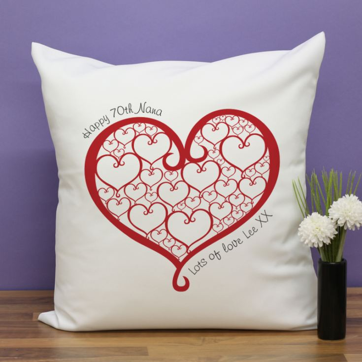 Personalised Best Nanna Ever Cushion product image