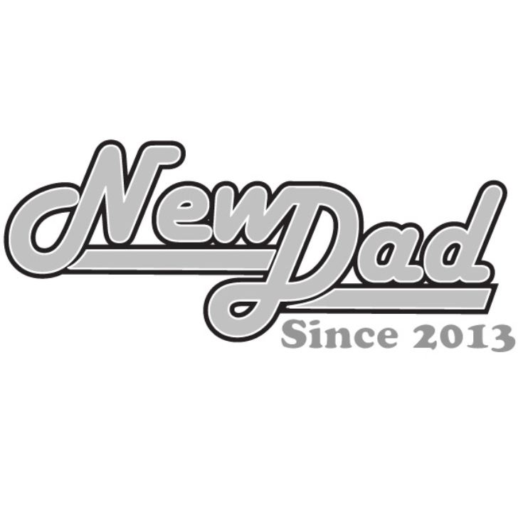 New Dad Since ... Personalised T-Shirt product image