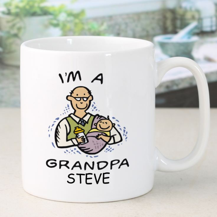 I'm A Grandpa Personalised Mug product image