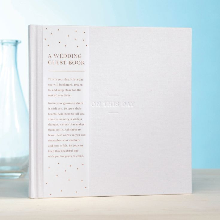 Compendium Wedding Guest Book - On This Day product image