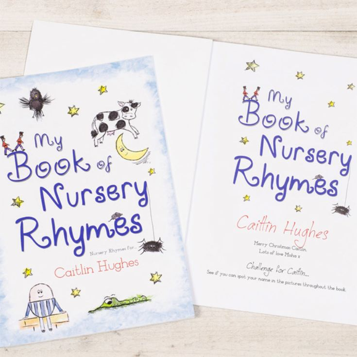 Nursery Rhymes Personalised Book product image