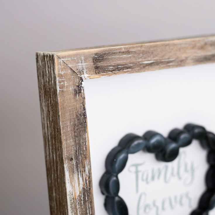 Family Forever Pebble Heart Photo Frame product image
