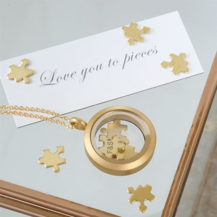 'Love You To Pieces' Personalised Necklace product image