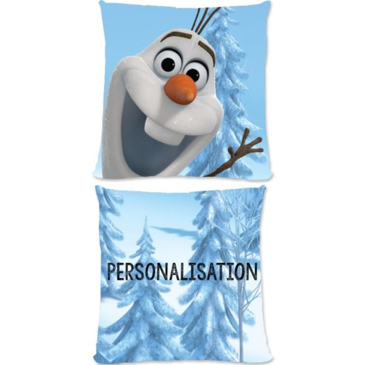 Personalised Disney Frozen Olaf Small Cushion product image