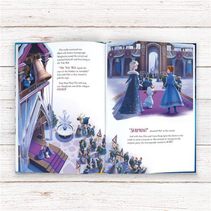 Olaf's Frozen Adventure Personalised Story Book product image