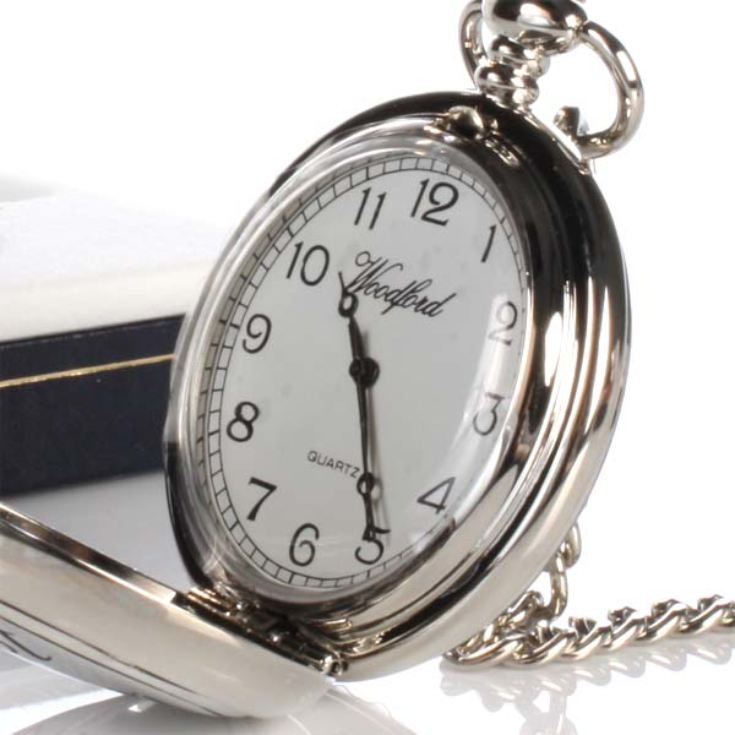 Usher Pocket Watch With Personalised Gift Box product image