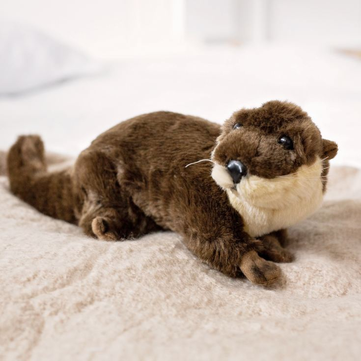 Living Nature Otter Soft Toy product image
