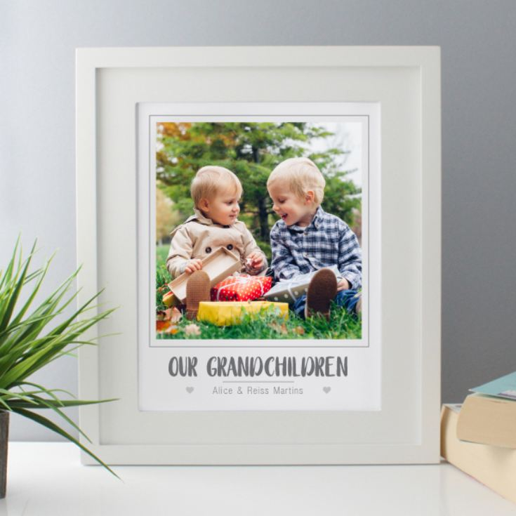 Personalised Our Grandchildren Photo Upload Framed Print product image