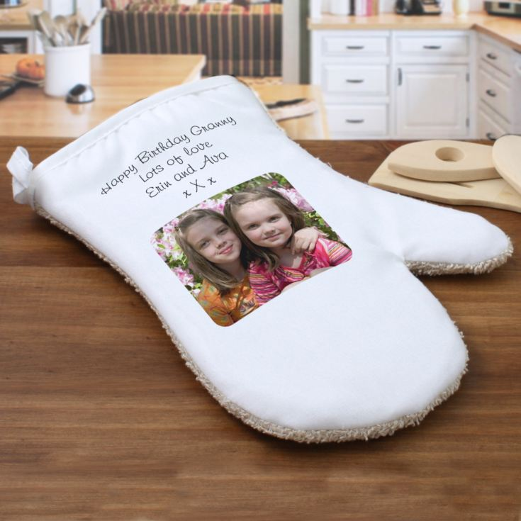 Personalised Granny Double Oven Glove product image
