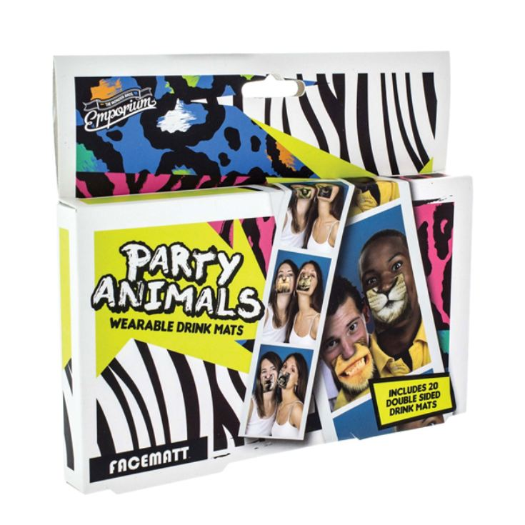 Party Animal Face Mats product image