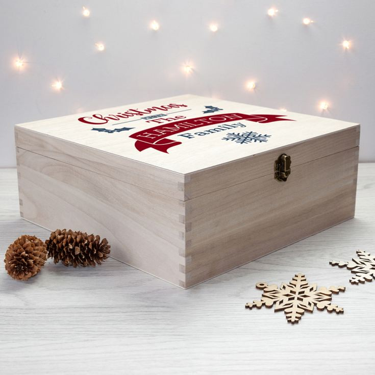 Personalised Our Family's Christmas Eve Box product image