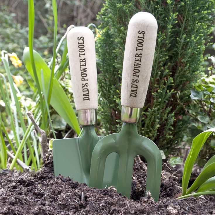 Personalised Trowel & Fork Gardening Set product image