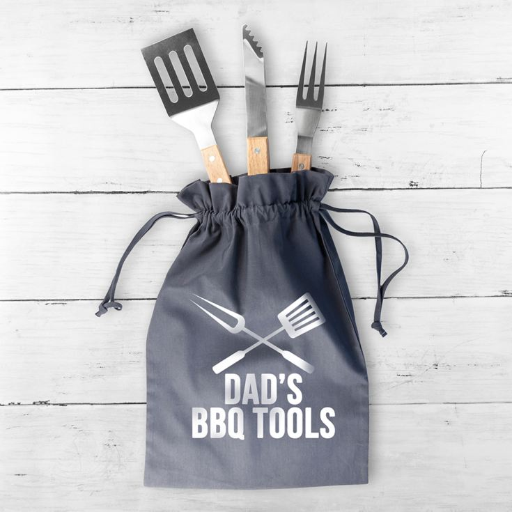 Personalised BBQ Tool Kit product image