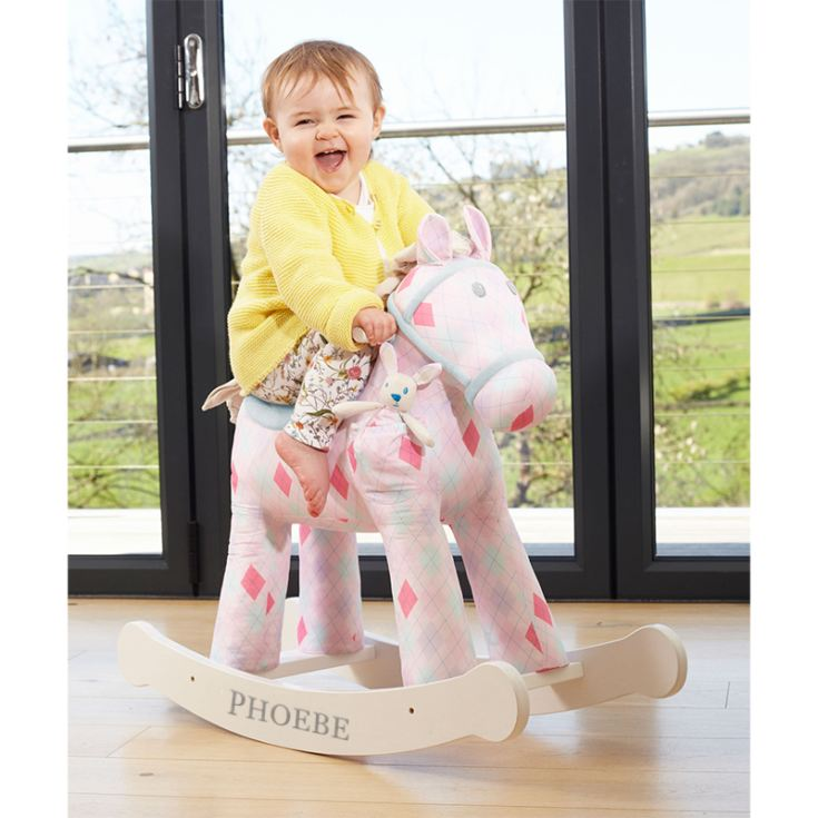 Personalised Florence And Floop Rocking Horse product image