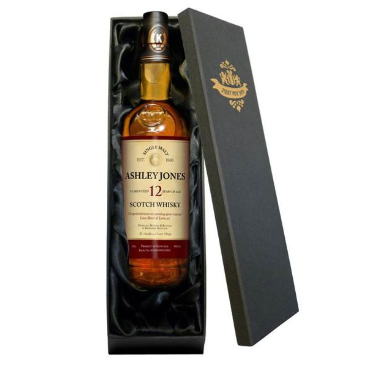 Personalised 12 Year Old Malt Whisky product image