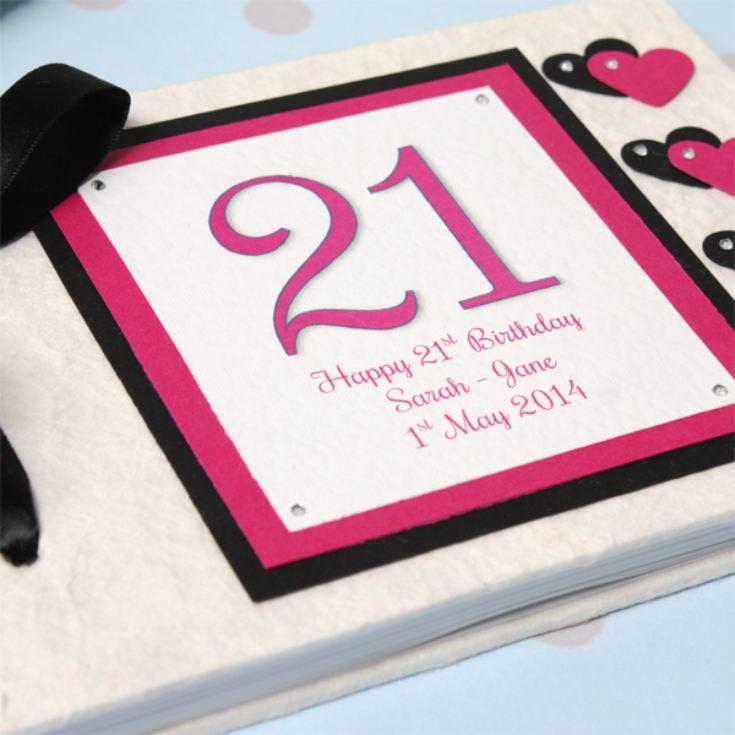 PERSONALISED 21ST BIRTHDAY WISH GIFT CARD PRESENT