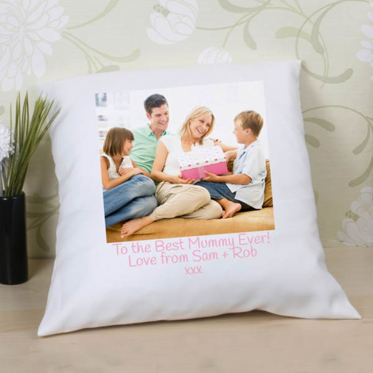 Personalised Photo Cushion for Mum product image