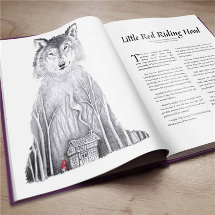 Personalised Book Of Fairy Tales product image