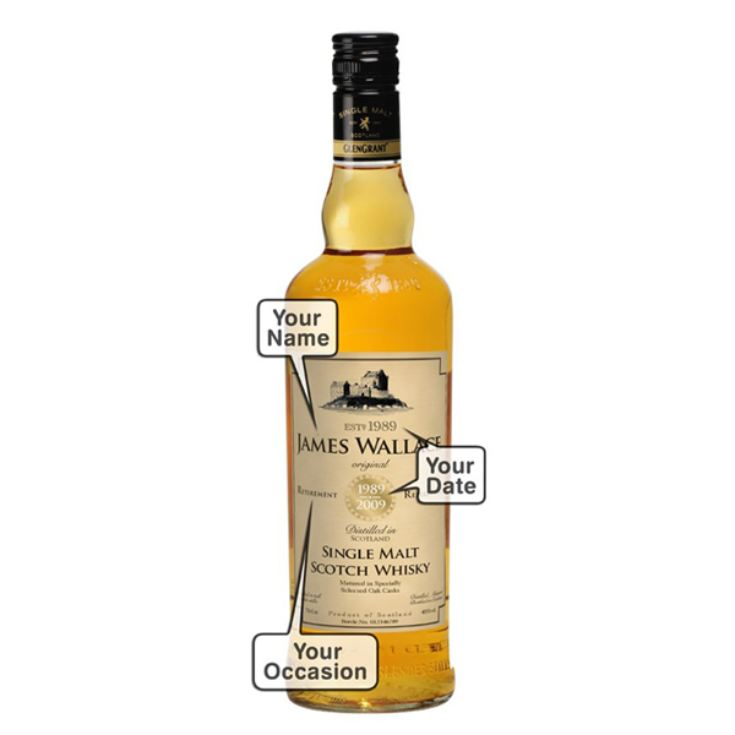 Personalised Father's Day Malt Whisky product image