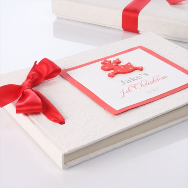 Personalised First Christmas Photo Album product image
