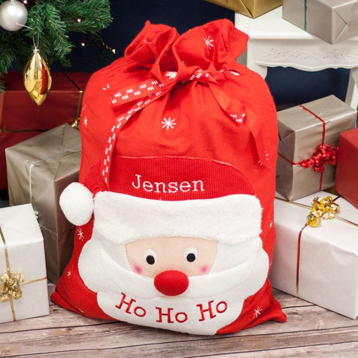 personalised santa giant sack the gift experience
