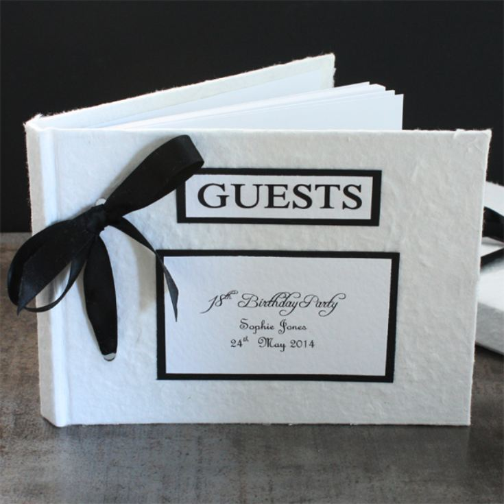 Personalised Handmade Guest Book product image
