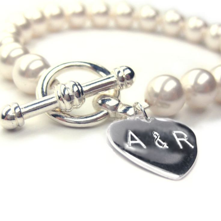Pearl Anniversary Personalised Forever Bracelet product image