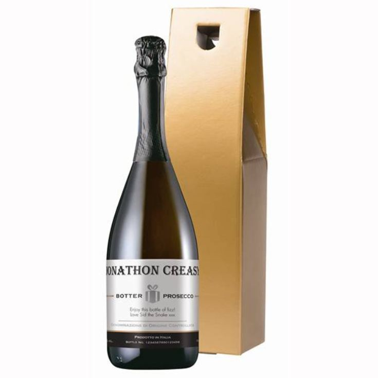 Personalised Prosecco product image