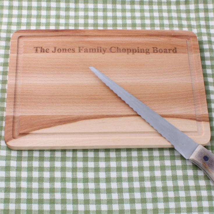 Personalised Beech Chopping Board product image