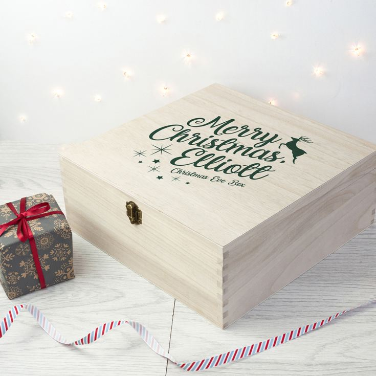 Personalised Rudolf Christmas Eve Box product image