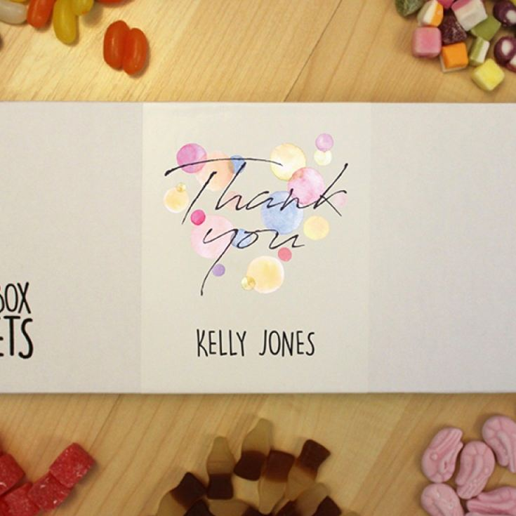Personalised Thank You - Letterbox Sweets product image